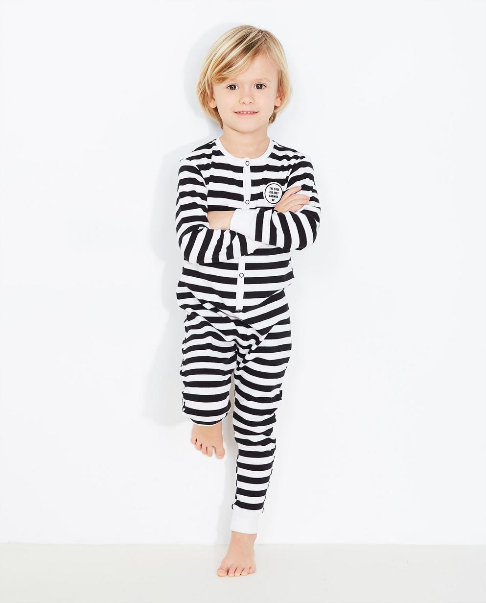 Pyjama rayé - noir et blanc - JBC 5b879d9d0d2
